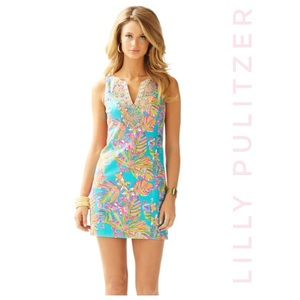 LILLY PULITZER Nwt Gabby Shift Sea Blue